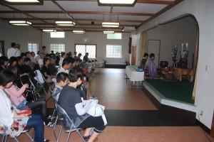 第38回 2013.8.9 合同供養祭(夏)が行われました。