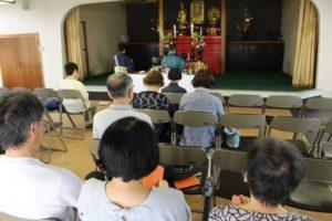 第56回  2019.8.9 合同供養祭(夏)が行われました。